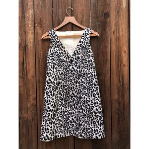 Michael Kors Leopard Print Dress sz 6